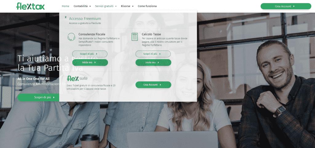 flextax nuovo sito
